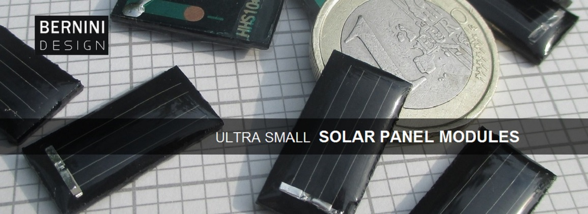 SMALL HIGH EFFICIENCY SOLAR PANELS BERNINI DESIGN